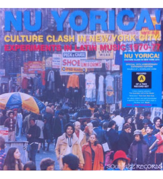"Various - Nu Yorica! Culture Clash In New York City: Experiments In Latin Music 1970-77 Vol.1 (2x12"", Comp, RE, RM) mesvinyles.f"