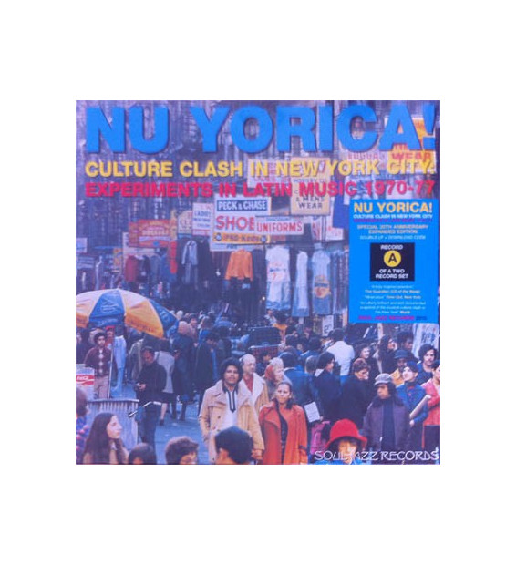 "Nu Yorica! Culture Clash In New York City: Experiments In Latin Music 1970-77 Vol.1 (2x12"", Comp, RE, RM) mesvinyles.fr"