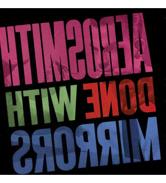 Aerosmith - Done With Mirrors (LP, Album, RE, 180) mesvinyles.fr