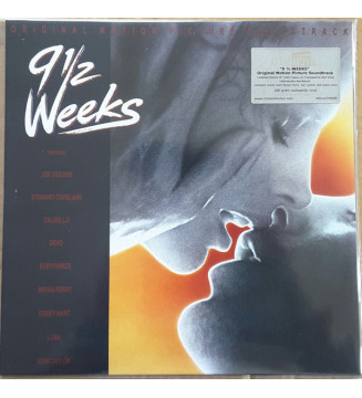 Various - 9½ Weeks - Original Motion Picture Soundtrack (LP, Album, Ltd, Num, Red) mesvinyles.fr
