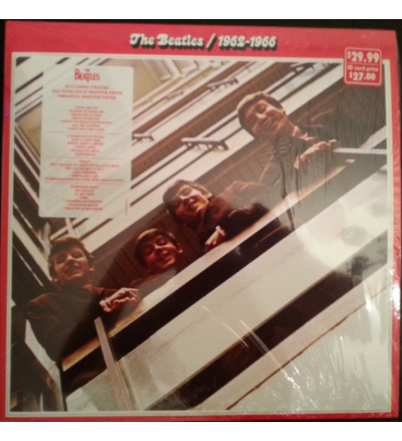 The Beatles - 1962-1966 (2xLP, Comp, RE) mesvinyles.fr