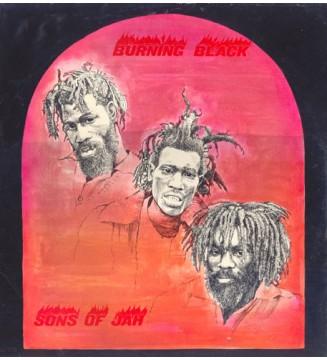 Sons Of Jah* - Burning Black (LP, Album) mesvinyles.fr