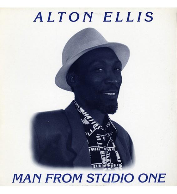 Alton Ellis - Man From Studio One (LP, Album) mesvinyles.fr