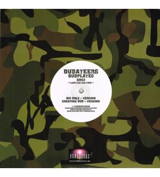 "The Dubateers - We Rule / Creeping Dub (10"", Ltd) mesvinyles.fr"