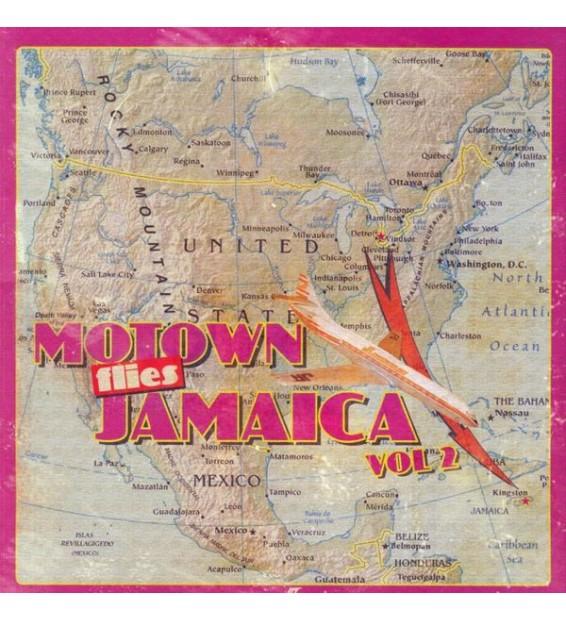 Various - Motown Flies Jamaica Vol 2 (LP, Comp, Unofficial) mesvinyles.fr