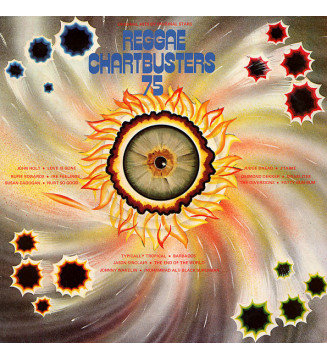 Various - Reggae Chartbusters 75 (LP, Comp) mesvinyles.fr