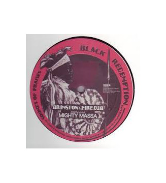 "Ras Takashi / Mighty Massa - Brimstone & Fire (10"") mesvinyles.fr"