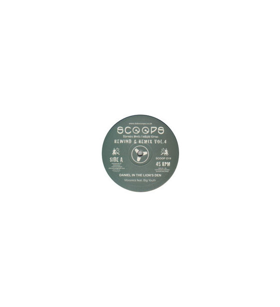 "Vibronics Meets Twilight Circus* - Rewind & Remix Vol.4 (10"") mesvinyles.fr"
