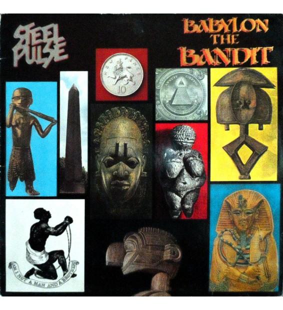 Steel Pulse - Babylon The Bandit (LP, Album) mesvinyles.fr