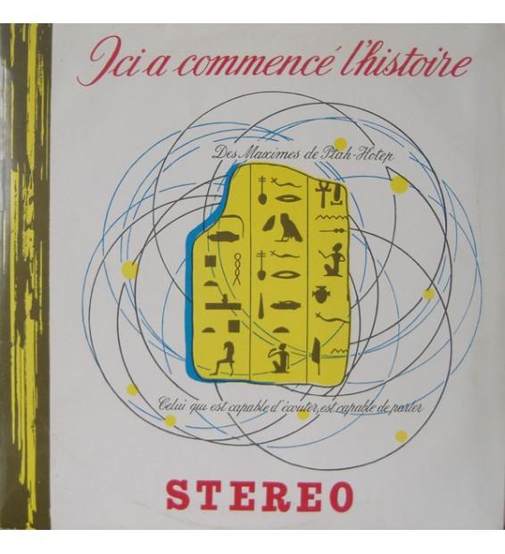 Georges Delerue - Ici A Commencé L'histoire - Pyramides Et Sphinx (2xLP, Album, Gat) mesvinyles.fr