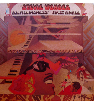 Stevie Wonder - Fulfillingness' First Finale (LP, Album, Gat) mesvinyles.fr