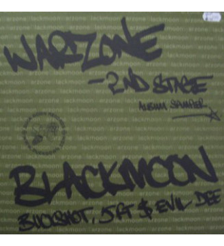 "Black Moon - Warzone (2nd Stage) (12"", Smplr, Gre) mesvinyles.fr"