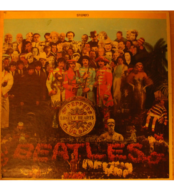 The Beatles - Sgt. Pepper's Lonely Hearts Club Band (LP, Album, RE, Gat) mesvinyles.fr