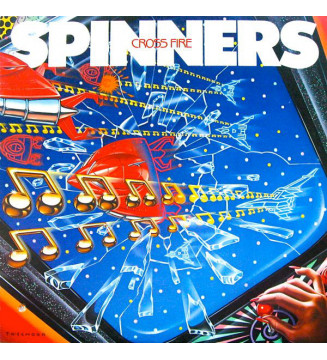 Spinners - Cross Fire (LP, Album) mesvinyles.fr