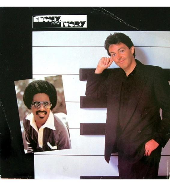 "Paul McCartney - Ebony And Ivory (12"") mesvinyles.fr"