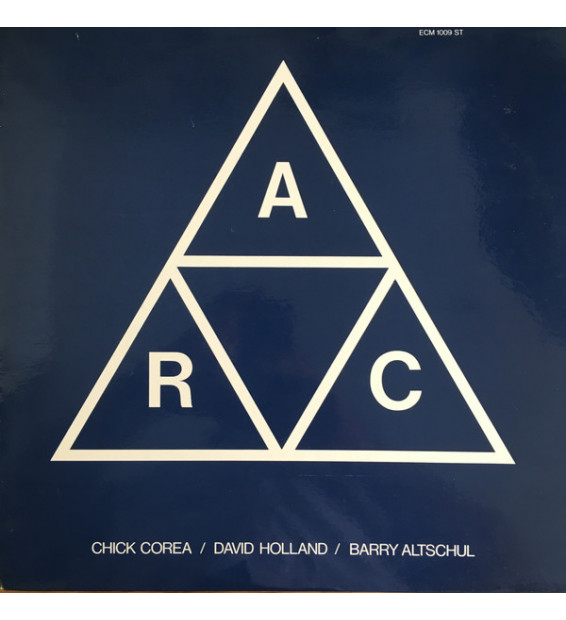 Chick Corea, David Holland*, Barry Altschul - A.R.C. (LP, Album) mesvinyles.fr