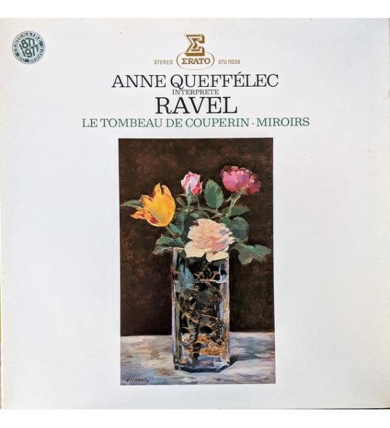 Anne Queffélec Interprète Ravel* - Le Tombeau De Couperin - Miroirs (LP)