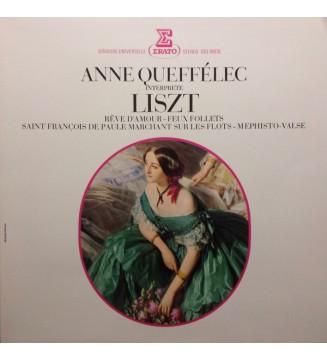 Franz Liszt, Anne Queffélec - Rêve D'Amour-Feux Follets-Saint François De Paule Marchant Sur Les Flots-Mephisto Valse (LP) mesvi