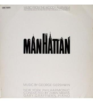 "George Gershwin / New York Philharmonic* - Music From The Woody Allen Film ""Manhattan"" (LP, Album) mesvinyles.fr"
