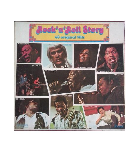 Various - Rock'n'Roll Story 48 Original Hits (4xLP, Comp + Box) mesvinyles.fr