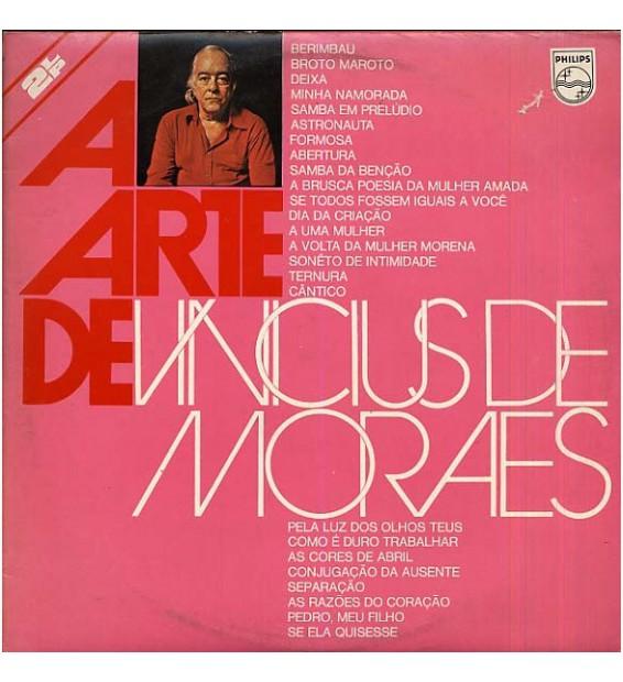 Vinicius De Moraes - A Arte De Vinicius De Moraes (2xLP, Comp, Gat) mesvinyles.fr