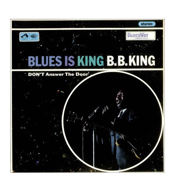 B.B. King - Blues Is King (LP) mesvinyles.fr