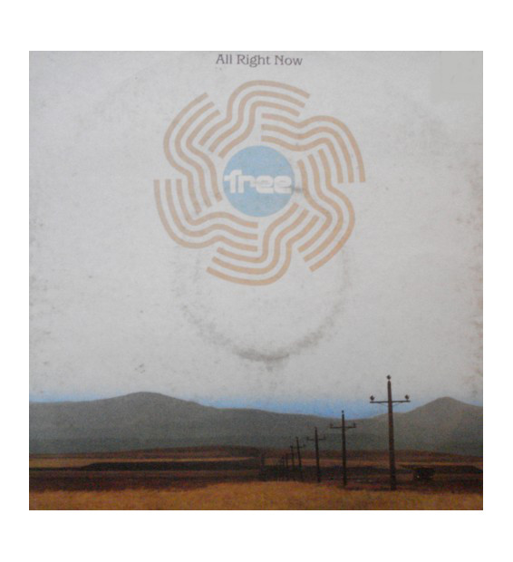 """Free - All Right Now (12"""", Single) mesvinyles.fr"""