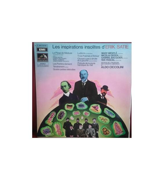 Erik Satie - Les Inspirations Insolites D'Erik Satie (LP) mesvinyles.fr
