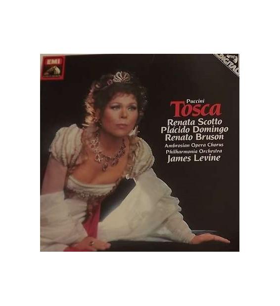 Renata Scotto, Placido Domingo, Renato Bruson, Ambrosian Opera Chorus*, Philharmonia Orchestra, James Levine (2), John McCarthy