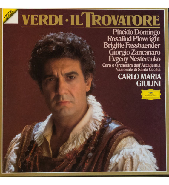 Verdi*, Placido Domingo, Rosalind Plowright, Brigitte Fassbaender, Giorgio Zancanaro, Evgeny Nesterenko, Coro* E Orchestra Dell