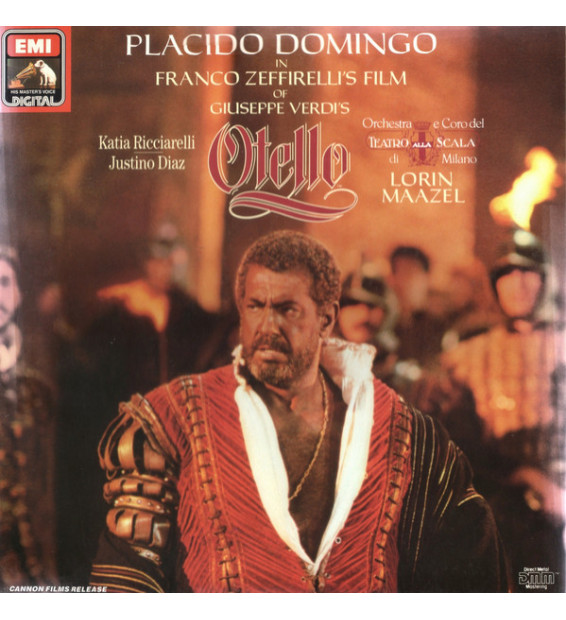 Giuseppe Verdi, Placido Domingo, Katia Ricciarelli, Lorin Maazel - Otello (2xLP + Box) mesvinyles.fr