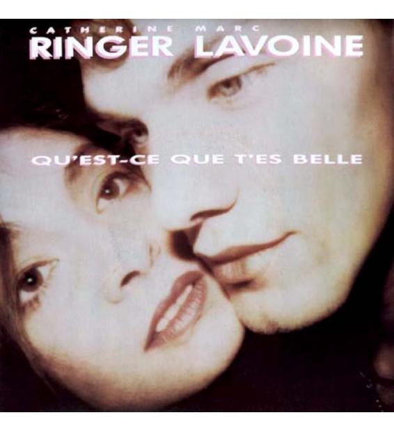 """Catherine Ringer, Marc Lavoine - Qu'est-ce Que T'es Belle (7"""", Single) mesvinyles.fr"""