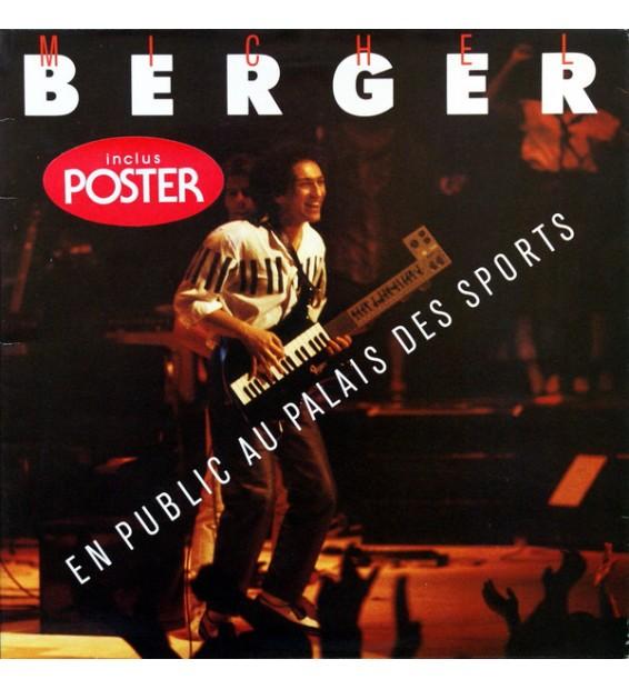 Michel Berger - En Public Au Palais Des Sports (LP, Album, Gat) mesvinyles.fr