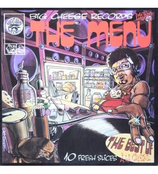 """Various - The Menu - 10 Fresh Slices """"Á La Carte"""" (LP, Comp) mesvinyles.fr"""