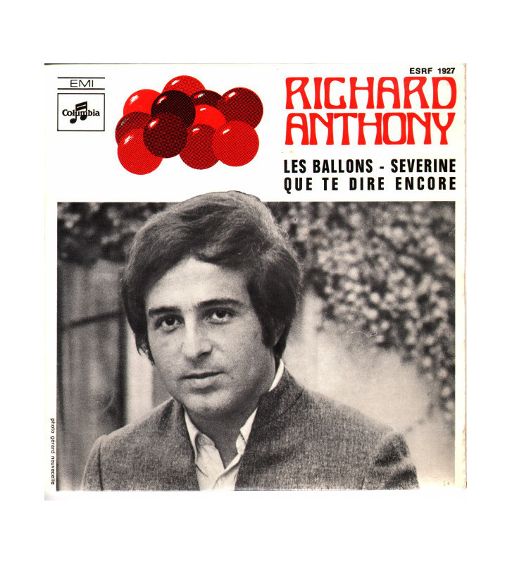 "Richard Anthony (2) - Les Ballons (7"", EP) mesvinyles.fr"