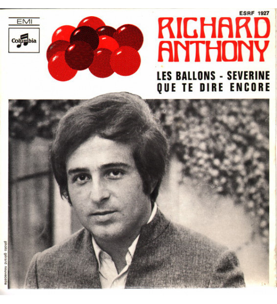 "Richard Anthony (2) - Les Ballons (7"", EP)"