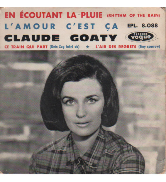 """Claude Goaty - En Ecoutant La Pluie (7"""", EP) mesvinyles.fr"""