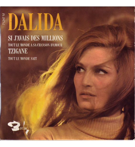 "Dalida - Si J'avais Des Millions (7"", EP) mesvinyles.fr"