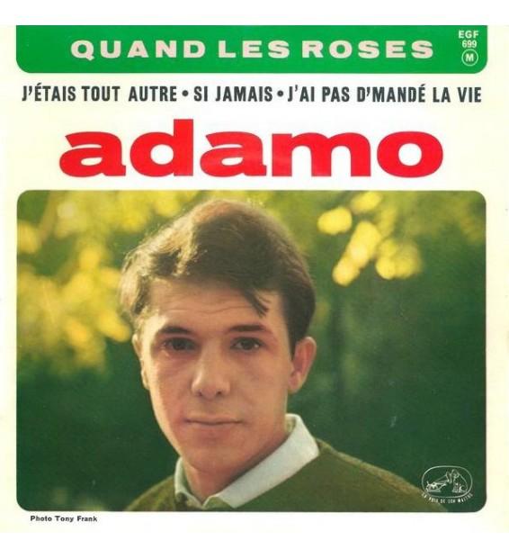 """Adamo - Quand Les Roses (7"""", EP) mesvinyles.fr"""