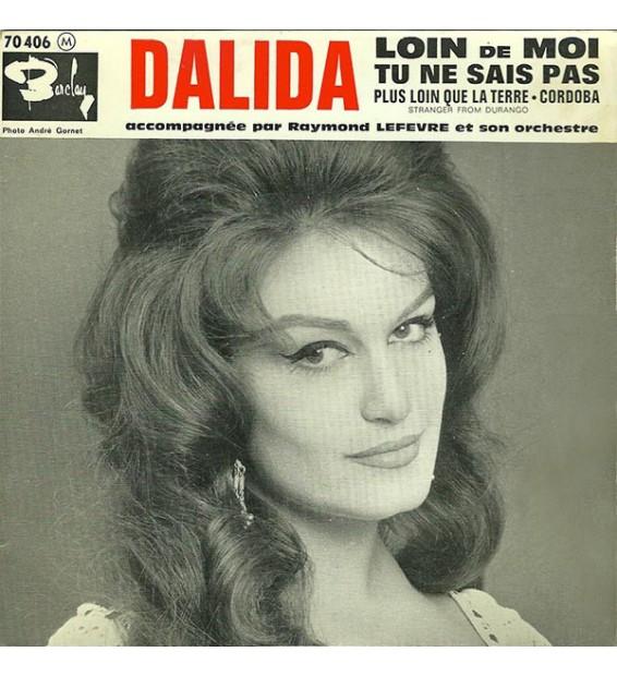 """Dalida Accompagnée Par Raymond Lefèvre Et Son Orchestre* - Loin De Moi (7"""", EP) mesvinyles.fr"""