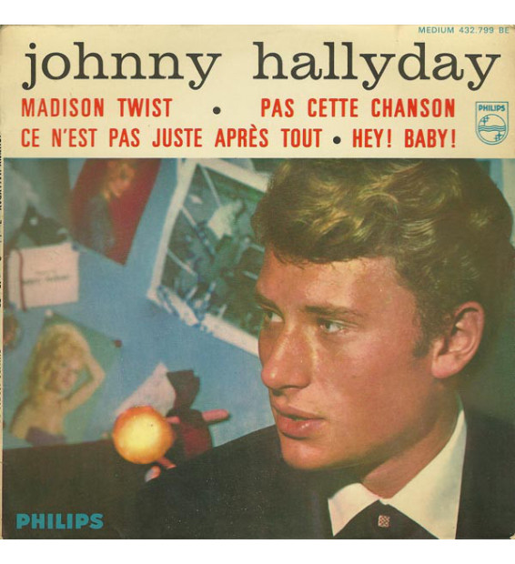"Johnny Hallyday - Madison Twist (7"", EP) mesvinyles.fr"