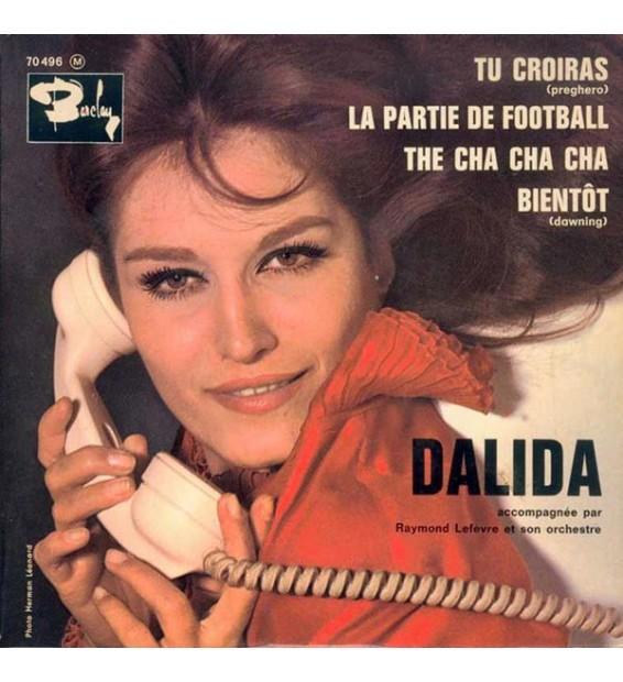 """Dalida Accompagnée Par Raymond Lefèvre Et Son Orchestre* - La Partie De Football (7"""", EP) mesvinyles.fr"""
