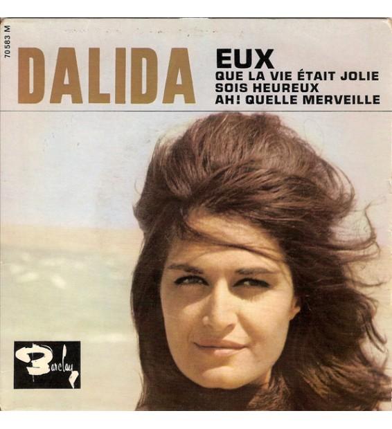 """Dalida Accompagnée Par R. Lefèvre Et Son Orchestre* - Eux (7"""", EP) mesvinyles.fr"""