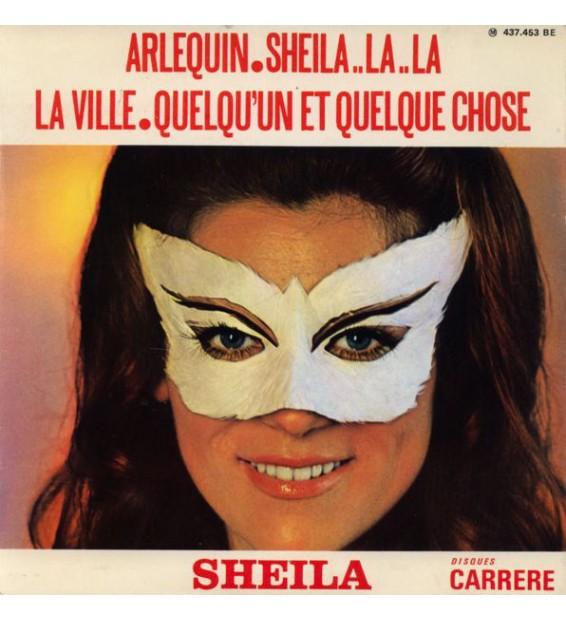 """Sheila (5) - Arlequin / Sheila..La..La / La Ville / Quelqu'un Et Quelque Chose (7"""", EP) mesvinyles.fr"""
