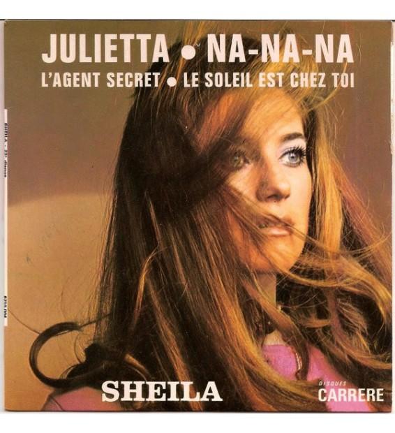 """Sheila (5) - Julietta (7"""", EP, Pap) mesvinyles.fr"""