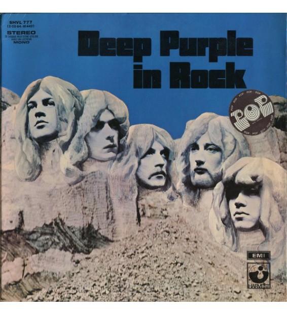 Deep Purple - In Rock (LP, Album, Gat) mesvinyles.fr