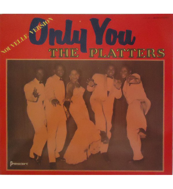 The Platters - Only You (Nouvelle Version) (LP) mesvinyles.fr