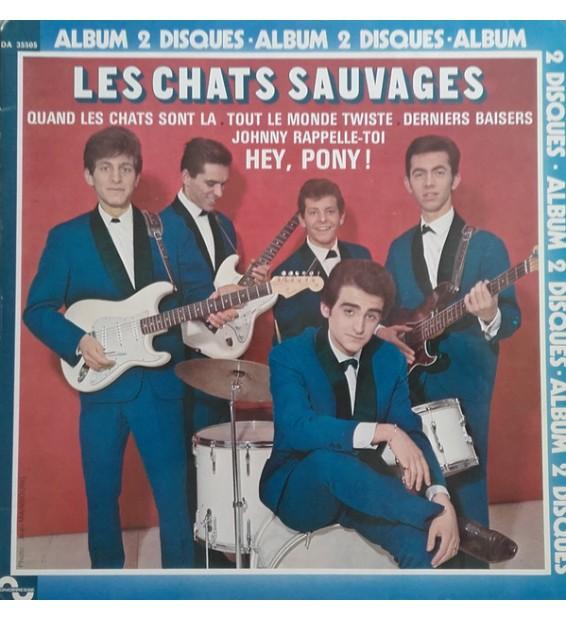Les Chats Sauvages Avec Dick Rivers Et Mike Shannon (7) - Les Chats Sauvages (2xLP, Comp, RE) mesvinyles.fr