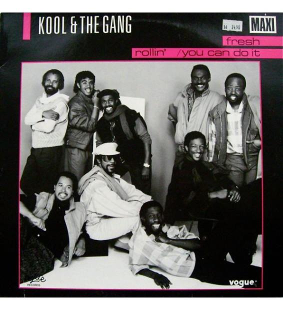 "Kool & The Gang - Fresh / Rollin' / You Can Do It (12"", Maxi) mesvinyles.fr"