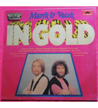 Marek & Vacek - In Gold (LP, Comp, S/Edition) mesvinyles.fr